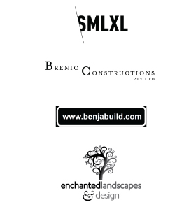 Bright Group Electrical Clients - SMLXL, Brenic Constructions, benjabuild.com and enchanted landscapes